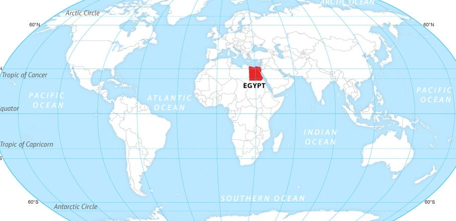 Egypt-on-the-map